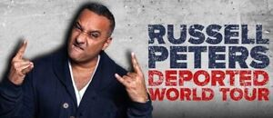 Russell Peters tickets - Deported Show at Scotiabank Area