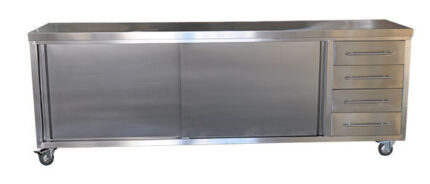 STAINLESS STEEL INDOOR & ALFRESCO CABINETS PRICES FROM $990
