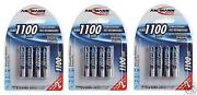 Ansmann AAA Rechargeable Batteries