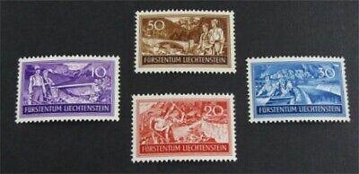 nystamps Liechtenstein Stamp # 132-135 Mint OG NH $21   L23y614