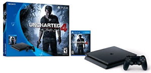 PS4 Slim 500GB PS4 slim 500GB works perfectly like new with orig