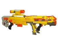 Nerf n strike sniper rifle with scope