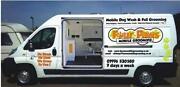 Dog Grooming Van
