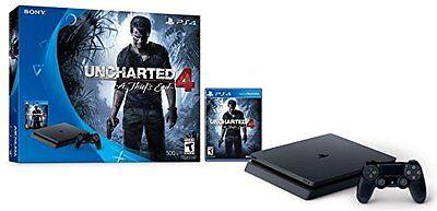 Sony PlayStation 4 Slim 500GB Console Uncharted 4 Bundle