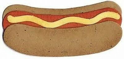 "Quickutz   RS-0229 ""Hot Dog"" No Packaging  Retired/Disc/Custom Die NEW"