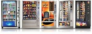 Refurbished vending machines, with warranty !