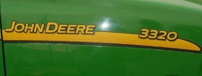 John Deere Hood Trim Decal Set - Lvu15630 Lvu15631 - 3320