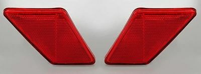 VW BUG SUPER BEETLE PAIR SIDE MARKER LENSES 113945109 Tail Light Reflector 70-72