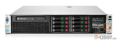 HP Proliant DL380p G8 SFF 8xBays/2x I-Xeon E5-2680 2.7GHz/32GB RAM/P420i/1x750W