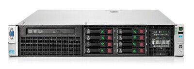 HP DL380p G8 SFF 8xBays/ 2x I-Xeon E5-2670 2.6GHz/32GB /P420i/1x750W