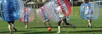 Bubble ball rentals. ($10 an hour!)