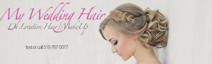 On Location Wedding Hair & Makeup-$35/$65/$85 Cambridge Kitchener Area image 2