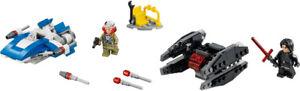 LEGO Star Wars 75196 AWing v Silencer 75195 Ski Speeder v Walker