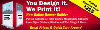Trade Show Pull-Up Banners - Starting at $215
