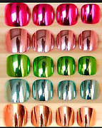 Variety of Toe Acrylic Nail Tips - Tray of 100 tips Rocklea Brisbane South West Preview