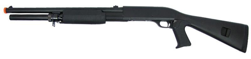 Double Eagle M56 AL Tri-Burst Long Barrel Airsoft Shotgun