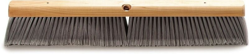 "Carlisle 4501423 Flo-Pac Flagged Fine Floor Sweep, Polypropylene Bristles, 24"" *"