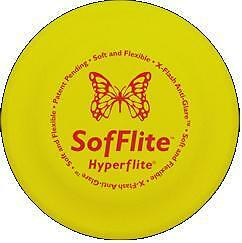 HYPERFLITE-SOFFLITE-DISC-Soft-Flexible-Frisbee-Flyer-Dog-Puppy-Toy