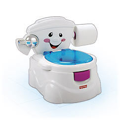FISHER PRICE MY POTTY FRIEND TODDLER TOILET TRAINER BRAND NEW P4324