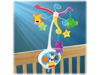 Fisher Price 2in1 Activity Friends Mobile