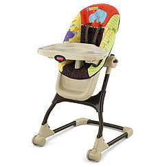 FISHER PRICE LUV U ZOO EZ CLEAN BABY HIGH CHAIR BRAND NEW V6909