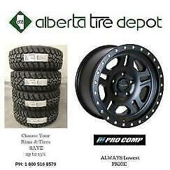 Buy 3 get 1 FREE SALE PRO Comp Rims Wheels Procomp Tires 265/70R17 235/80R17 235/80R16 265/70R17 275/65R18 275/60R20