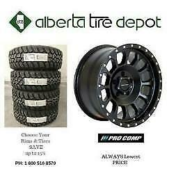 Buy 3 get 1 FREE SALE PRO Comp Rims Wheels Procomp Tires 265/70R17 275/55R20 265/75R16 275/55R20 275/70R18 265/75R16