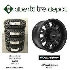 Buy 3 get 1 FREE SALE PRO Comp Rims Wheels Procomp Tires 205/55R16 275/70R18 265/70R17 235/80R17 265/75R16 275/65R18
