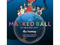 Selling Masked Ball Ticket for £45