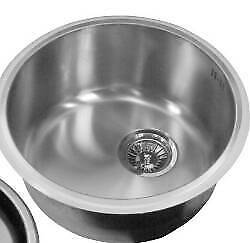 Round sink bowl and waste new