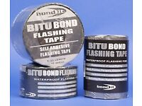 Self adhesive flashing tape for general repairs and sealing. Roofing Conservatories gutter caravans