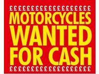 Wanted motorcycles