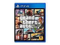 GTA V FOR PS4 £10