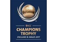 5X Bangladesh VS Australia Champion Trophy 2017 Tickets All in a Same Row Bronze Class