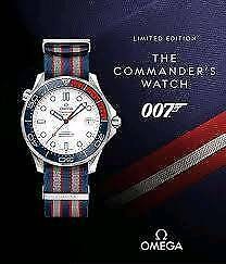 Omega Seamaster Commanders James Bond Limited Edition
