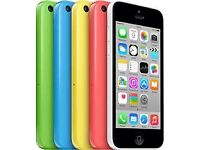 IPHONE 5C 16GB/ALL COLOURS AVAILABEL