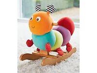 Charlie caterpillar baby rocker BNB