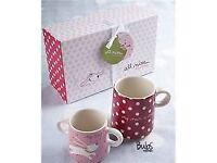 'My mug, Mum's mug' gift set