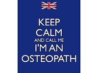 Osteopath / Sports / Deep Massage Therapist - London Home visits / Call Outs Only