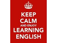 English teacher: CELTA qualified and native-speaker