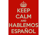 Spanish lessons by a native speaker
