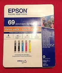 Epson 69 Ink Cartridges Value Pack T0691-5-SV