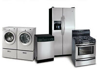 APPLIANCE REPAIR & INSTALL | Fridge, Dishwasher, Washer & Dryers