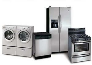 APPLIANCE REPAIR & INSTALL | Dishwasher, Fridge, Washer & Dryers