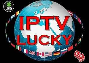 You want the best IPTv be Lucky