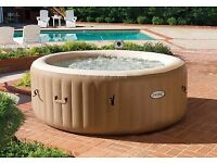 Intex 6 person pure spa hot tub