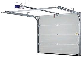 Garador Linear Medium Sectional Electric Garage Door