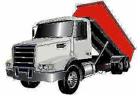 Roll-off dumpster rental @$279 for 2 days only