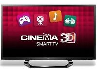 42 INCH LG 3D SMART SLIM LED FULL HD TV WITH BUILT IN FREEVIEW** CAN BE DELIVERED**