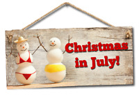CHRISTMAS in JULY....another week of SALES!